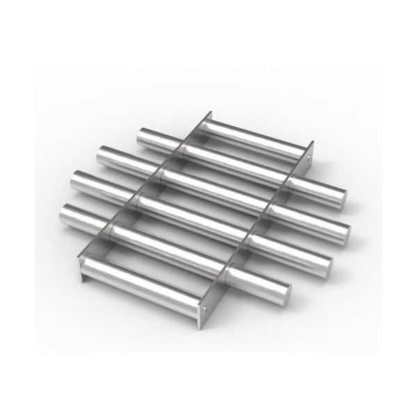 Магнитная решетка, круглая D350х22 (6 стержней D22 мм)