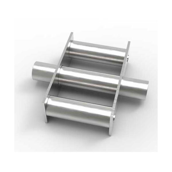 Магнитная решетка, круглая D150х25 (3 стержня D25 мм)