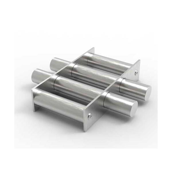 Магнитная решетка, круглая D200х25 (4 стержня D25 мм)