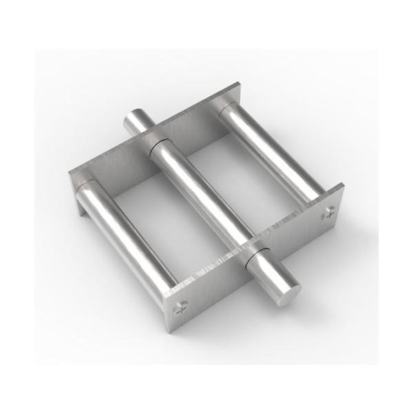 Магнитная решетка, круглая D150х16 (3 стержня D16 мм)