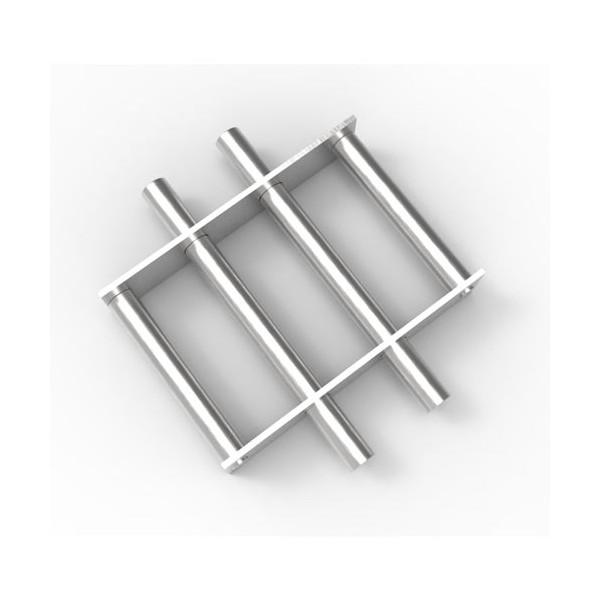 Магнитная решетка, круглая D200х16 (4 стержня D16 мм)