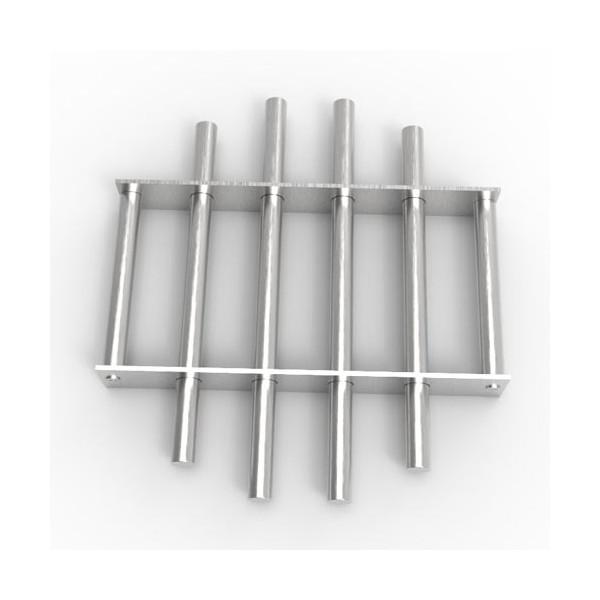 Магнитная решетка, круглая D300х16 (6 стержней D16 мм)