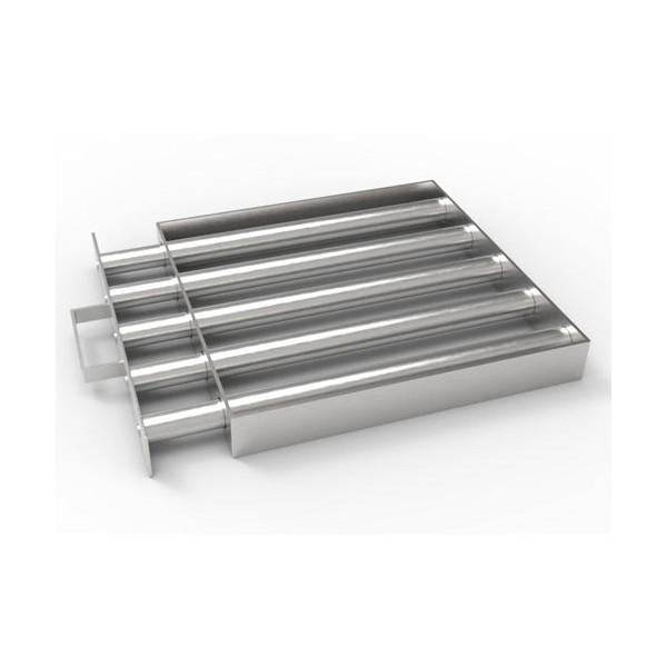 Магнитная решетка с очисткой 300х300х25 (5 стержней D25 мм)