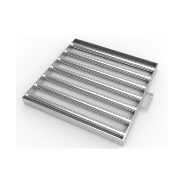 Магнитная решетка с очисткой 450х450х25 (7 стержней D25 мм)