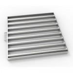 Магнитная решетка с очисткой 500х500х25 (8 стержней D25 мм)