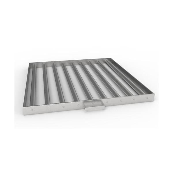 Магнитная решетка с очисткой 600х600х40 (9 стержней D25 мм)