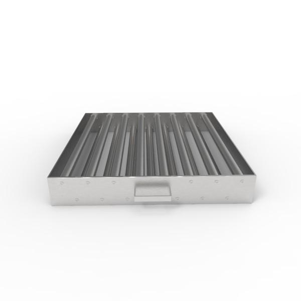 Магнитная решетка, двухрядная с очисткой 500х500х25 (15 стержней D25 мм)