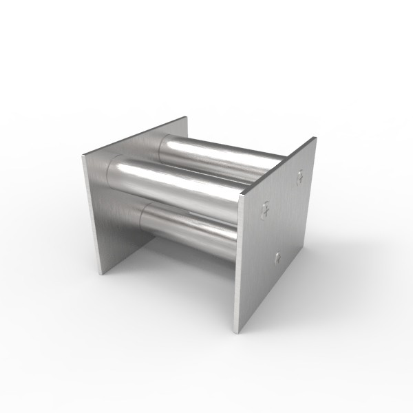 Магнитная решетка, двухрядная 100х100х22 (3 стержня D22 мм)