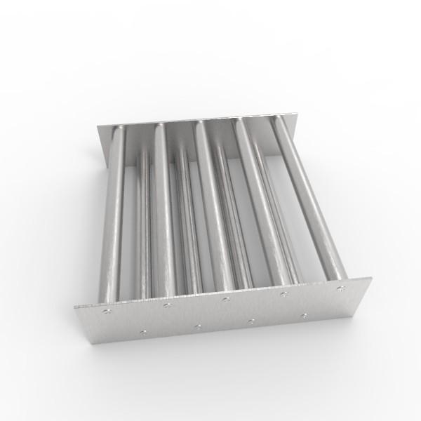 Магнитная решетка, двухрядная 300х300х22 (9 стержней D22 мм)