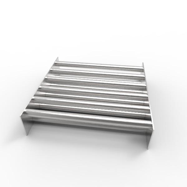Магнитная решетка, двухрядная 350х350х22 (11 стержней D22 мм)
