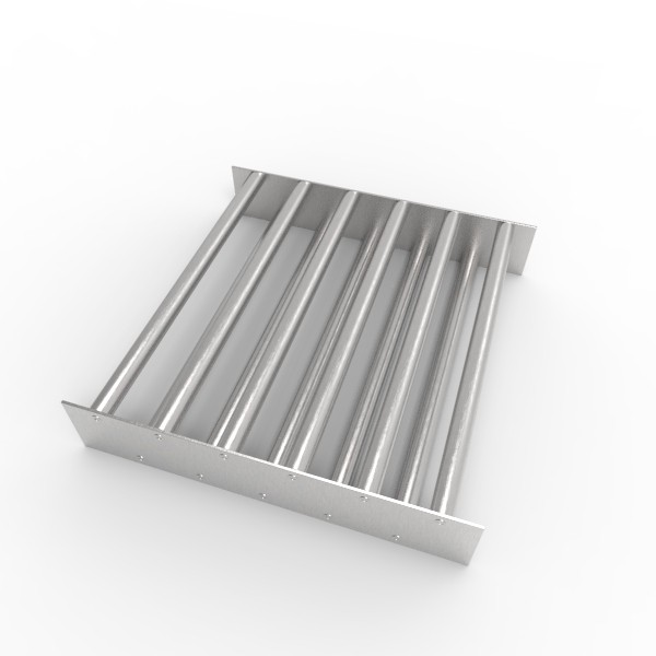 Магнитная решетка, двухрядная 400х400х22 (11 стержней D22 мм)