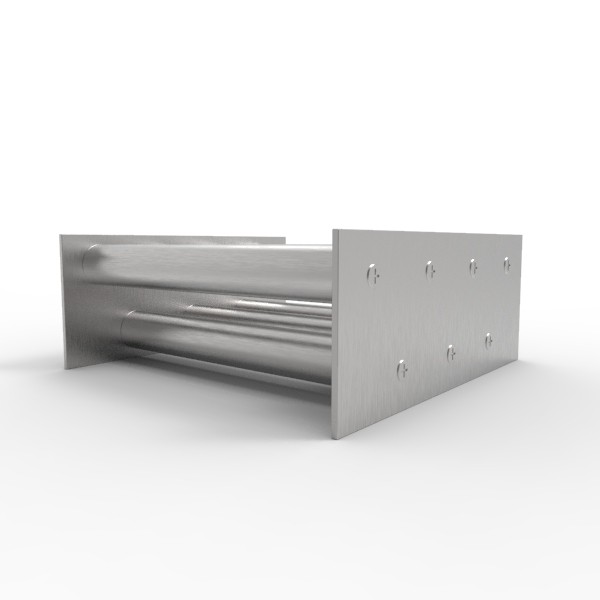 Магнитная решетка, двухрядная 200х200х25 (7 стержней D25 мм)