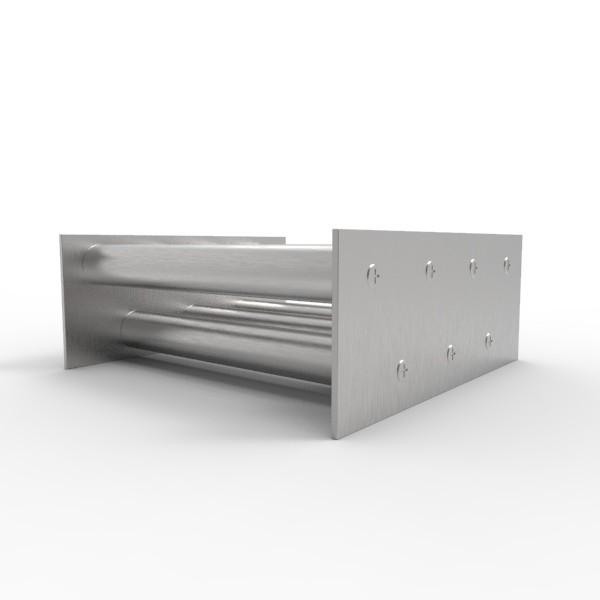 Магнитная решетка, двухрядная 200х200х25 (7 стержней D25 мм) 73103