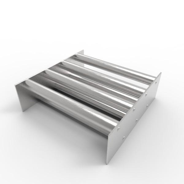 Магнитная решетка, двухрядная 250х250х25 (7 стержней D25 мм)
