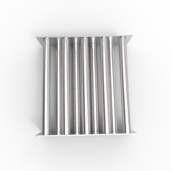 Магнитная решетка, двухрядная 300х300х25 (9 стержней D25 мм)