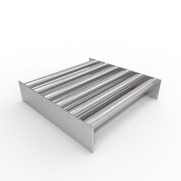 Магнитная решетка, двухрядная 350х350х25 (11 стержней D25 мм)