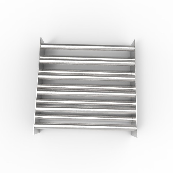 Магнитная решетка, двухрядная 400х400х25 (11 стержней D25 мм)