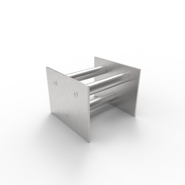 Магнитная решетка, двухрядная 100х100х16 (3 стержня D16 мм)