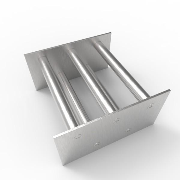 Магнитная решетка, двухрядная 150х150х16 (5 стержней D16 мм)