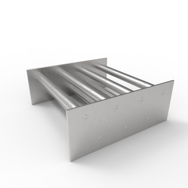 Магнитная решетка, двухрядная 200х200х16 (7 стержней D16 мм)