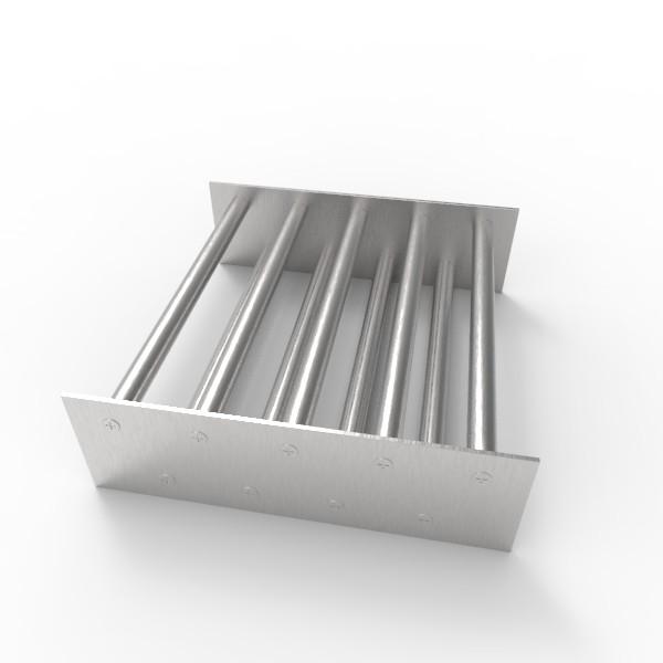 Магнитная решетка, двухрядная 250х250х16 (9 стержней D16 мм)